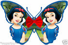 24 x Disney Princess SNOW WHITE Butterflies Edible Decorations Cup Cake Toppers