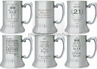 PERSONALISED ENGRAVED TANKARD Gifts Presents For Him BIRTHDAY MEN Man Dad Son