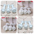 6 Styles Icing Cake Decorating Cookie Plunger Cutters Tools Gum Paste Mould New