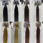 "(High Quality)New Style 18""&22"" Nail/U-Tip Remy Human Hair EXTENSION 100S 1g/s"