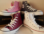 Womens Boys Girls Original Converse All Star Ox Canvas Trainers Pumps Shoes