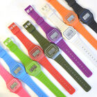 New Mens/unisex Retro Vintage Style 80s Classic Digital Watch 9 Silicone Colours