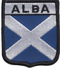 More images of Scotland Scottish Saltire Alba Flag Embroidered Patch Badge