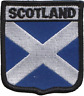 More images of Scotland Scottish Saltire Flag Embroidered Patch Badge