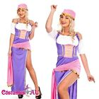 Ladies Mysterious Fortune Teller Circus Gypsy Fancy Dress Halloween Costume