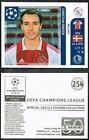 PANINI - Champions League 2011-12 Stickers #241 to #300 (Chelsea,Ajax,Zagreb etc