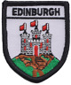 More images of Edinburgh City Crest Scotland Flag Embroidered Patch Badge