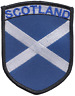 More images of Scotland Scottish Saltire Large Shield Embroidered Patch Badge