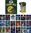 Choose Team TEAM Soft Blanket Throw 50x60 Fleece NFL SHIPS PRIORITY Home  Game