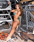 MISS TESSMACHER 33 AKA BROOKE TESSMACHER AND BROOKE ADAMS (WRESTLING)PHOTO PRINT
