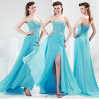 Formal Evening Long Gown Party Prom Ball Bridesmaid Dress SZ 6 8 10 12 14 16 18