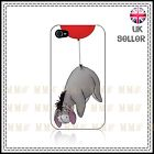 Disney Winnie The Pooh Eeyore Made for Iphone 4 / 4s / 5 Black  White Hard Case