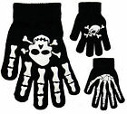 New Skull And Crossbones Gripper Magic Gloves Choice Of 3 Designs One Size BNWT