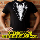Tuxedo T-shirt Black & White - Mens - S, M, L, XL, XXL, XXXL (Free Shipping)