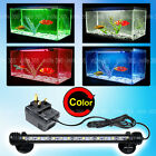 Aquarium Fish Tank Submersible LED Light Bar Lamp White Blue Red 8 Color Change