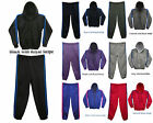 LADIES CASUAL PULLOVER JOG SUIT TRACKSUIT FLEECE JOGGING HOODIE TOP & BOTTOM