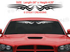 Design #131 TRIBAL SCALLOP Windshield Graphic Window Decal Sticker Car Truck SUV