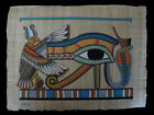 Egyptian Papyrus genuine hand painted Eye of Horus