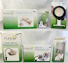 Purelite Craft Lamps - Clip-on, Mini 3-in-1, Magnifying Table LED Sewing Lights