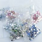 12 Colours Iridescent 3mm Flat Back Acrylic Rhinestones Gems Cards, Invitations