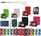 "Leather Smart Case Cover Stand for New Amazon Kindle Fire HD 7"" with Sleep Wake"