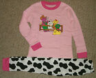 NIP Barney & Friends Down On The Farm L/S Pajamas Set Size's 5T- 6T - 7T