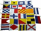 Naval Signal Flags Flag SET- 100% COTTON - Set of Total 26 flag - Marine Code