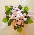 NEW!!!!!! PINK BABY CLOTHES BOUQUET, BABY SHOWER GIFTS, MATERNITY, NAPPY CAKES
