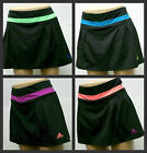 New ADIDAS Climalite Stretch Black Skort with Contrast Color U PICK COLOR & SIZE