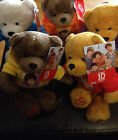 "ONE DIRECTION PLUSH  9""BEARS 1D OFFICIALLY LICENSED WITH HOOD AND PHOTO COLLECT"
