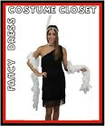 1920s Flapper Fancy Dress Costume Charleston Great Gatsby Gangster 20s Halloween
