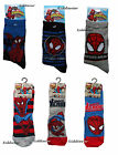 Boy girl Spider-man Marvel socks shoe size 6 7 8 9 10 11 12 1 2 3 age 2-8 years