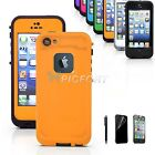 For Apple iPhone 5 5s PC Waterproof Shockproof Dirt Dust Proof Hard Cover Case