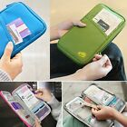 Womens Mens Credit Card Cash Clutch Organizer Bag Wallet Purse Large Capacity Q