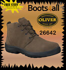 OLIVER Work, Casual, Hiking, Desert Boots Brwn Suede Lace Up NEW+Warranty 26642