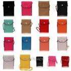 Ladids Travel PU Leather Case Pouch Purse Strap Bag Fit Sumsung S3 S4 iPhone 5
