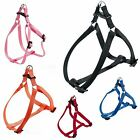 FERPLAST EASY ADJUSTABLE DOG Puppy PET PETS HARNESS all sizes BLUE OR BLACK