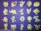 Halloween/Glow in Dark Moshi Monsters Moshlings: pick your Ghost White figures