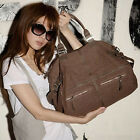 UK Stock Oversize Women Handbag Travel Shopper Tote Shoulder Messenger Bag Purse