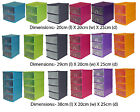 2 Tier / 3 Tier / 4 Tier Assorted Colours A5 Plastic Storage Drawer Units