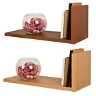 DURALINE L-STYLE  RETRO CONTEMORARY WALL MOUNTED  SHELF FLAT PACK SELF ASSEMBLY
