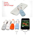 UNIVERSAL Mini USB Adapter Mobile Cell Phone Vehicle Auto Car Charger Accessorie