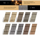 Vinyl Siding COLOR SAMPLES for Split and Staggered Shake and Shingle