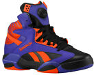 New Men's 2013 Reebok Shaq Attaq Black / Purple / Orange V61029 Suns Basketball
