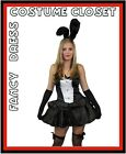 Easter PlayGirl Bunny PlayBoy Style Sexy Fancy Dress Costume Party Halloween