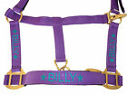 Personalised Embroidered Headcollar with Star Motifs. Starting at £9.90