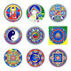 ILLUMINATION MANDALAS SUNSEAL WINDOW STICKER / DECAL - Buddhism & Spirituality