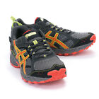 ASICS GEL-TRAIL LAHAR 5 G-TX Gore-Tex Running Shoes T3K3N-7921 CHARCOAL-RED-LIME