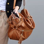 Fashion Girls Women Korea Style Faux Leather Shoulder Bag Crossbody Handbag Tote