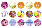 "#43 FLOWER 1"" PRE CUT BOTTLE CAP IMAGES SCRAPBOOKING CAKE TOPPERS CRAFT PROJECTS"